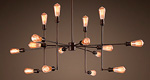 Люстра Лофт Varick 16 ламп