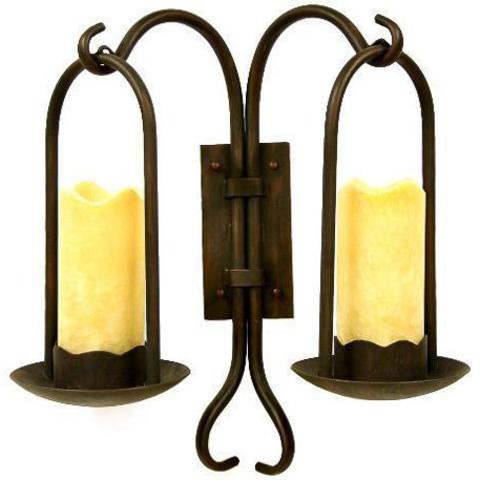 Бра Candle 2 лампы