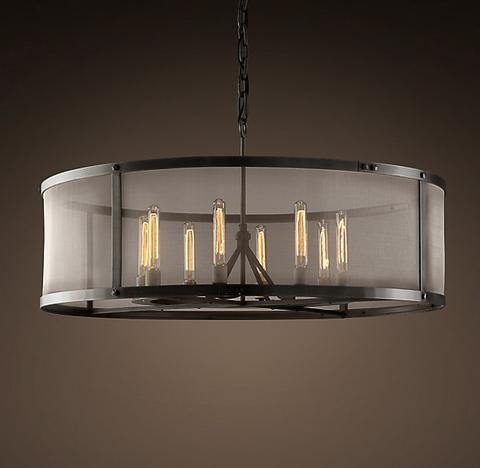 Люстра Riveted mesh 8 ламп