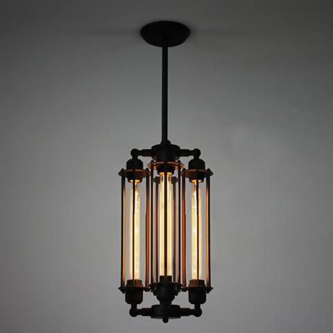 Светильник Industrial Cage Vertical 4 лампы