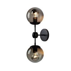 Бра Modo Sconce 2 Globes Black