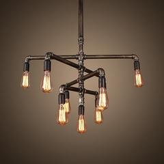 Люстра Pipe Light 9 ламп