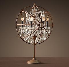 Лампа настольная Foucault's orb crystal