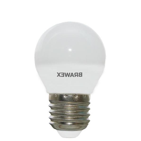 Лампочка Brawex глоб E27