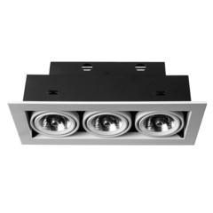 Светильник встраиваемый поворотный Arte Lamp Cardani medio A5930PL-3WH