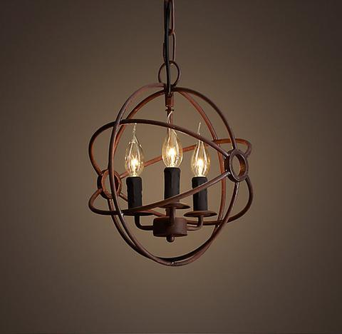 Люстра Foucault's orb 4 лампы