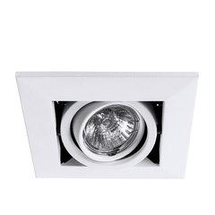 Светильник встраиваемый поворотный Arte Lamp Cardani piccolo A5941PL-1WH