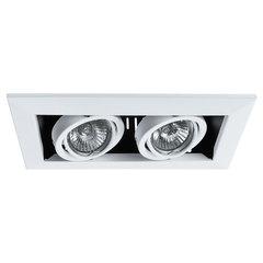 Светильник встраиваемый поворотный Arte Lamp Cardani piccolo A5941PL-2WH