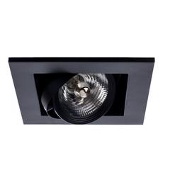 Светильник встраиваемый поворотный Arte Lamp Cardani medio A5930PL-1BK