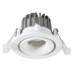 Встраиваемый светильник Arte Lamp Apertura A3310PL-1WH