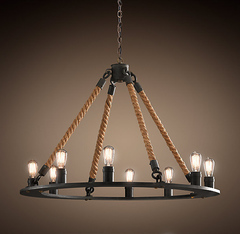 Люстра Rope filament 12 ламп