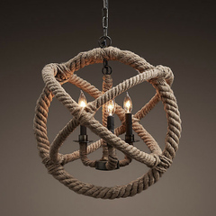 Люстра Gyro Rope 3 лампы