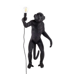 Лампа настольная The Monkey Lamp Standing Version Black