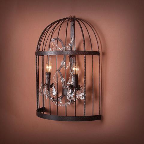 Бра Vintage birdcage