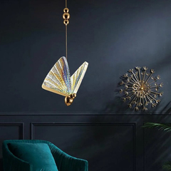 Люстра The Fluttering Butterfly Сolored