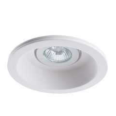 Светильник встраиваемый поворотный Arte Lamp Invisible A9215PL-1WH