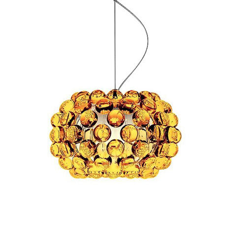 Люстра Caboche Suspension Amber D35