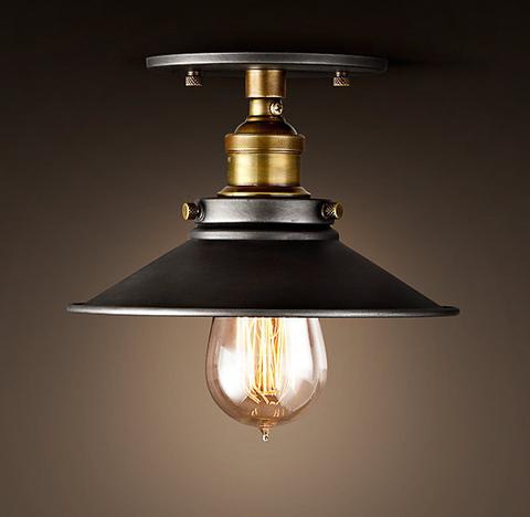 Светильник потолочный 20th c. Factory filament 1 лампа