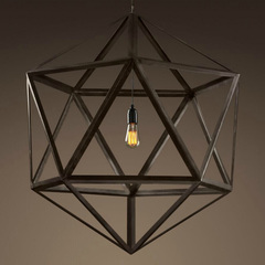 Люстра Steel Polyhedron 1 лампа