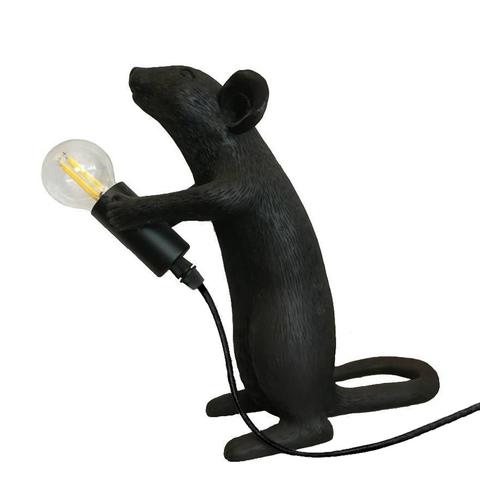 Лампа настольная Mouse Lamp Standing Black