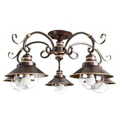 Люстра Arte Lamp Grazioso A4577PL-5CK