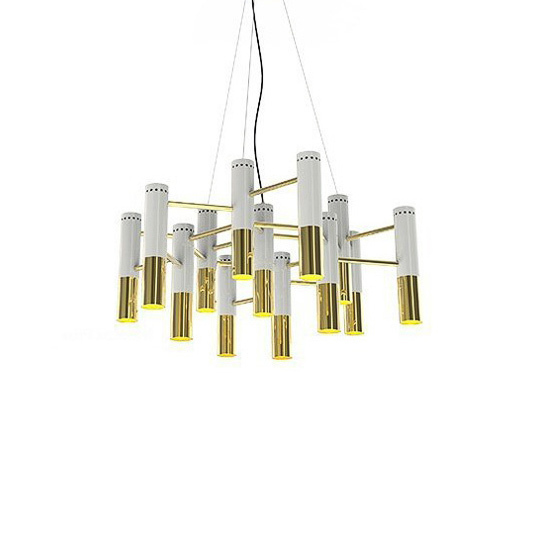 Люстра Ike Suspension 13 White-Gold