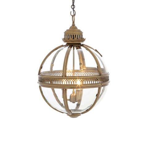 Люстра Lantern Residential Bronze