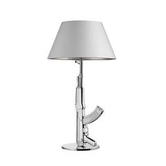 Лампа настольная Guns-Table Gun Silver