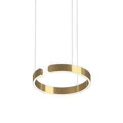 Светильник Mito sospeso Copper Gold