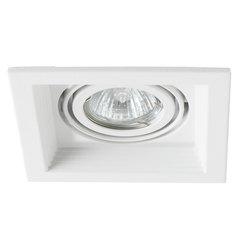 Встраиваемый светильник Arte Lamp Canis A6661PL-1WH