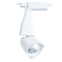 Трековый светильник Arte Lamp Lynx A3830PL-1WH