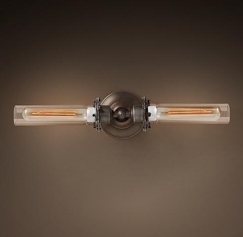 Бра Edison Glass Vanity Sconce