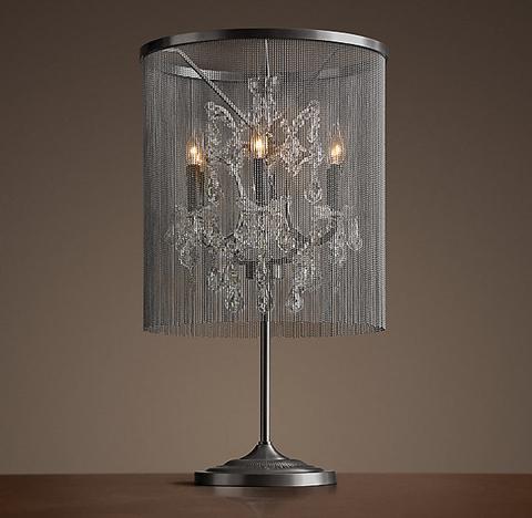 Лампа настольная Vaille crystal