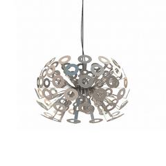 Люстра Dandelion Silver D55