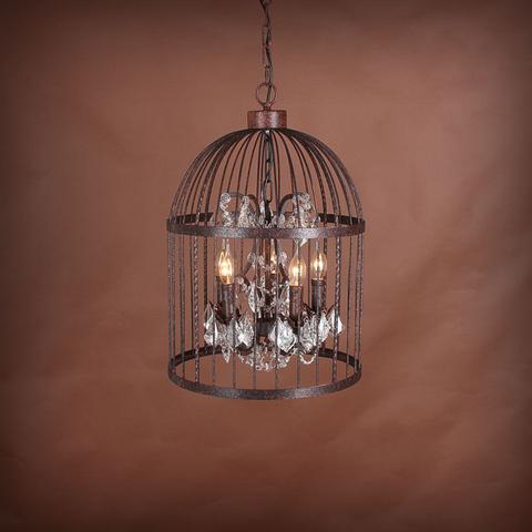 Люстра Vintage birdcage 5 ламп