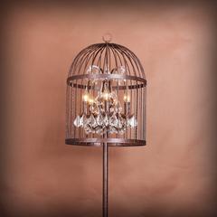 Лампа настольная Vintage birdcage