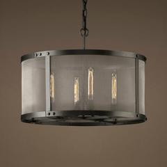 Люстра Riveted mesh 4 лампы