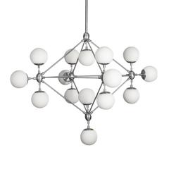 Люстра Modo Chandelier 15 Globes Chrome