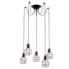 Люстра Arte Lamp Spider A1109SP-5BK