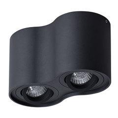Светильник точечный Arte Lamp Falcon A5645PL-2BK