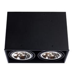 Светильник точечный Arte Lamp Cardani grande A5936PL-2BK