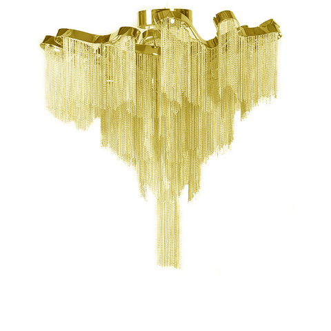 Люстра Stream Сeiling Gold