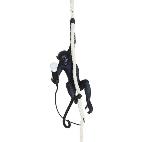 Светильник The Monkey Lamp Ceiling Version Black