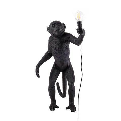 Лампа настольная The Monkey Lamp Standing Version Black