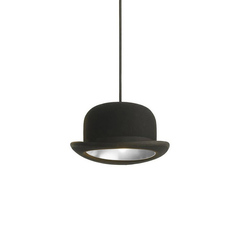 Светильник Jeeves Bowler Hat Pendant Silver