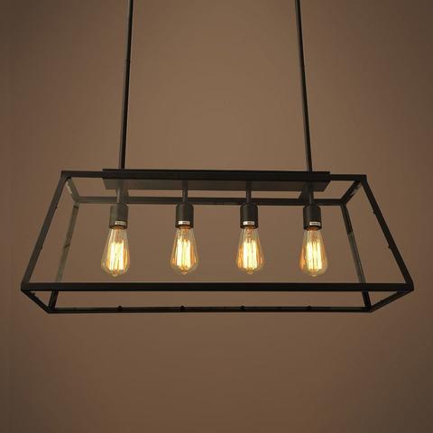 Люстра Modern Filament 4 лампы