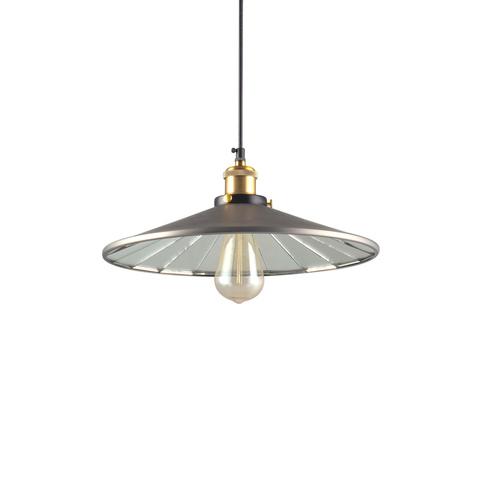 Светильник 20th c. Factory filament серый 36 см