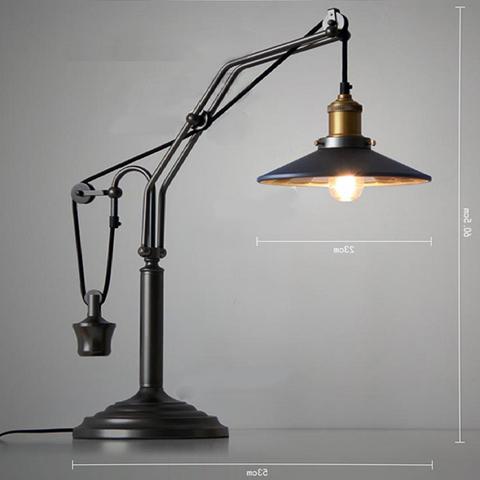 Лампа Industrial Table Lamp 3879