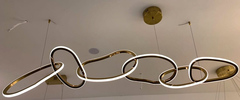 Светильник Unfolded Hanging RING 6