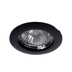 Встраиваемый светильник Arte Lamp Basic A2103PL-1BK